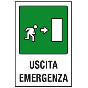 Uscita emergenza destra